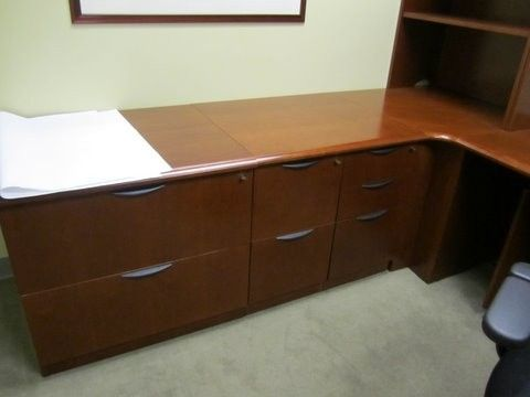 next office desk. features storage credenza with bbf u0026 ff pedestals lateral files bookshelf overhead tackboard get a quote today for your next office furniture desk s