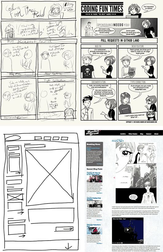 As with websites so with comics: there's a lot more to it than meets the eye. Follow along as Rachel Nabors shares techniques from the world of comics to better plan, assess, and improve the experience of a website.