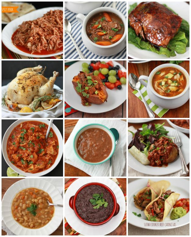 12 Tried and True Slow Cooker Recipes - Gluten Free, Dairy Free, Paleo, Vegan, and Whole30 Options! // One Lovely Life