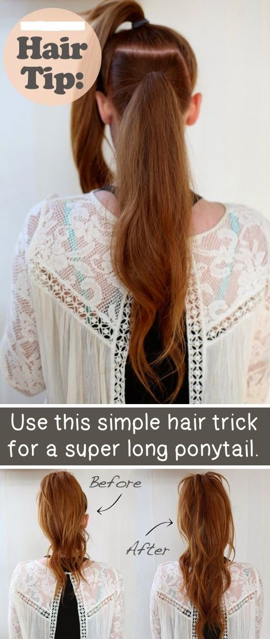 buy chrome hearts online Use This Simple Hair Trick For A Super Long Pony Tail