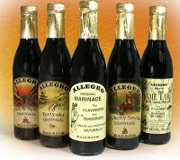 Allegro Marinade - especially Hickory Smoke.......a must to marinade ribeyes in. Always in my frig.