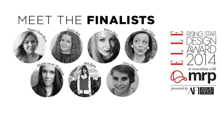 Go to Elle online to find out about our Rising Star 2014 Finalists