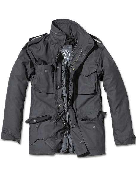 Brandit M65 Jacke Standard schwarz