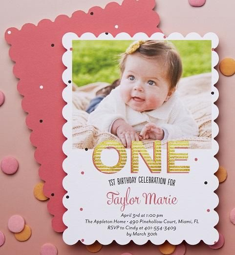 100 best best birthday party invitations images on pinterest shutterfly offers 1 year old birthday invitations in fun styles and colors create custom 1 year birthday invitations for your babys special day stopboris Images