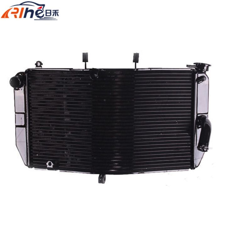 103.40$  Buy now - http://aliqiy.worldwells.pw/go.php?t=32522616466 - hot selling motorcycle radiator cooler aluminum motorbike radiator black color For Honda CBR600RR CBR 600 RR 2003 2004 2005 2006