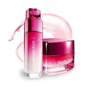 W Klubie Ekspertek możesz przetestować i ocenić L'Oréal Paris Skin Perfection Krem i Serum udoskonalające (pinterest)