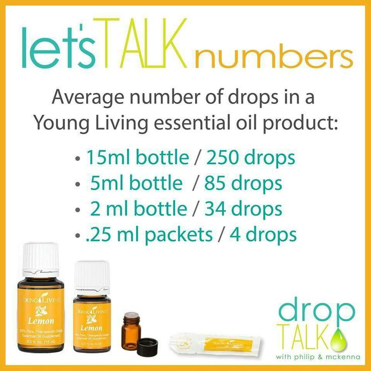 When you see how many drops there are in a bottle, it doesn't seem as expensive!