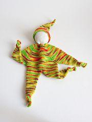 Ravelry: crocheted Knubbelchen pattern by Tanja Osswald