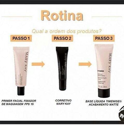 Rotina de preparação da pele para a maquiagem