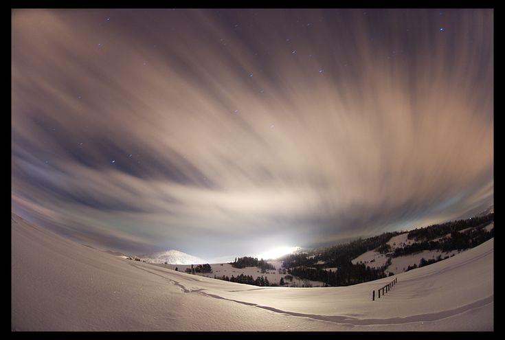 Gorce mountains by night by KarolP.deviantart.com on @DeviantArt