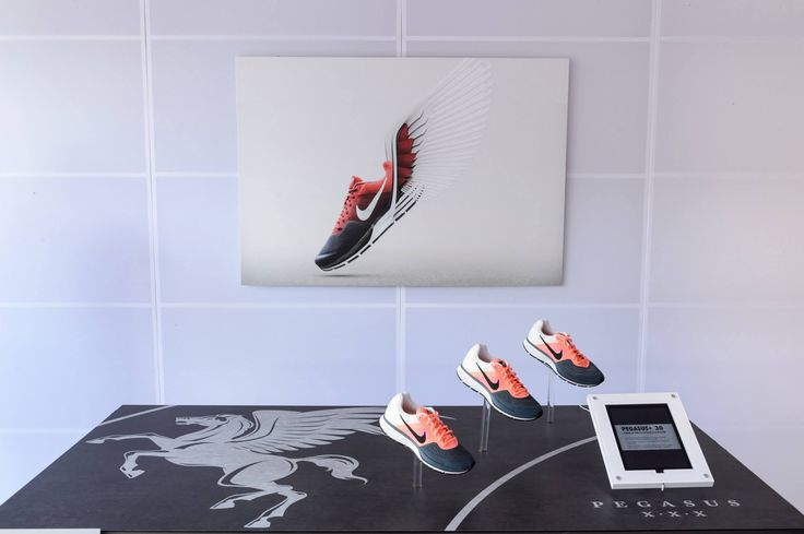 Nike Expo, Pegasus, We Run Prague 2013 #nike #expo #werunprague #running #shoe #pegasus