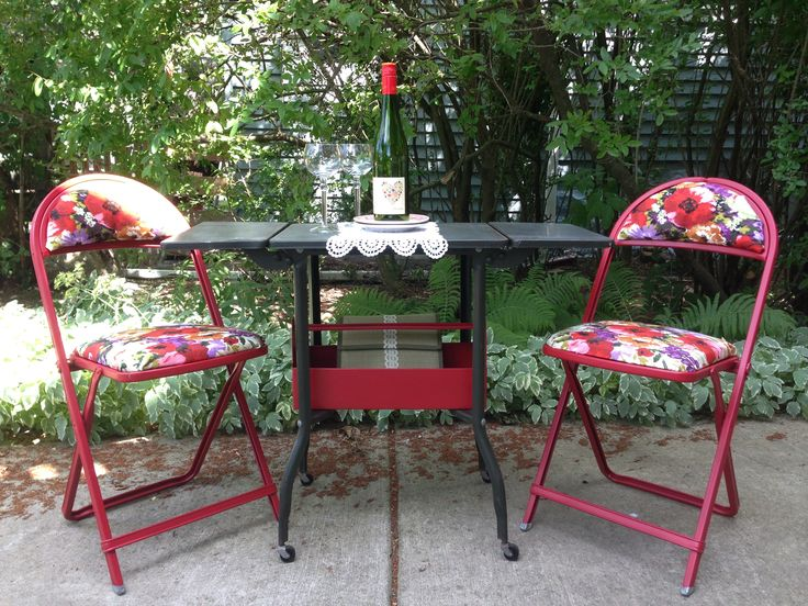 37 best vintage metal typewriter table images on pinterest for Repurposed metal furniture