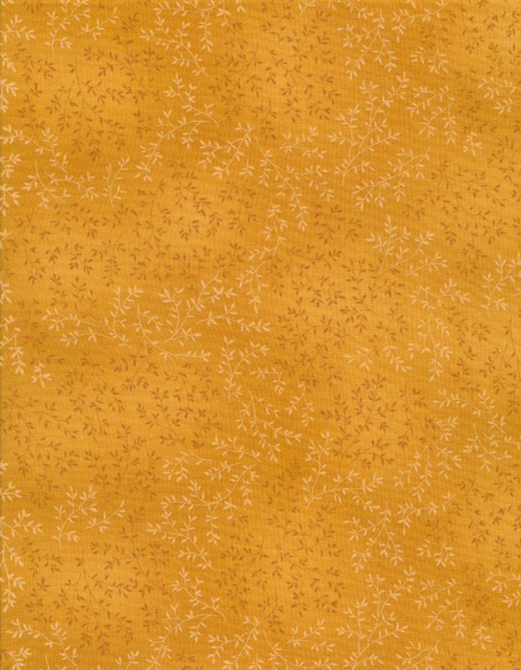 Timeless Treasures - Fleur-C4794-Gold Willow Tonal Leaf