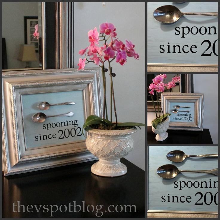 unique anniversary gift.Wedding Anniversary, Wedding Gift, Diy Artworks, Anniversaries Gift, Personalized Wedding, Gift Ideas, Martha Stewart, Valentine Gifts, Art Projects