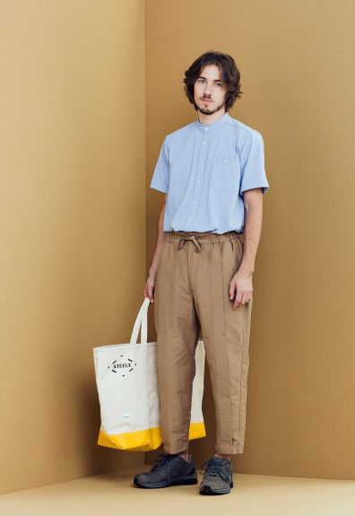 """Taiwanese label wisdom has unveiled its Spring/Summer 2016 """"Vertical Seconds"""" collection, inspired by Ben Nicholson's abstract painting of the same name."""