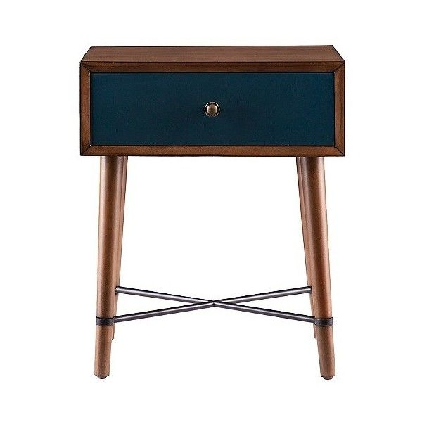 Galena Accent Table Blue (10.515 RUB) ❤ Liked On Polyvore Featuring Home,  Furniture