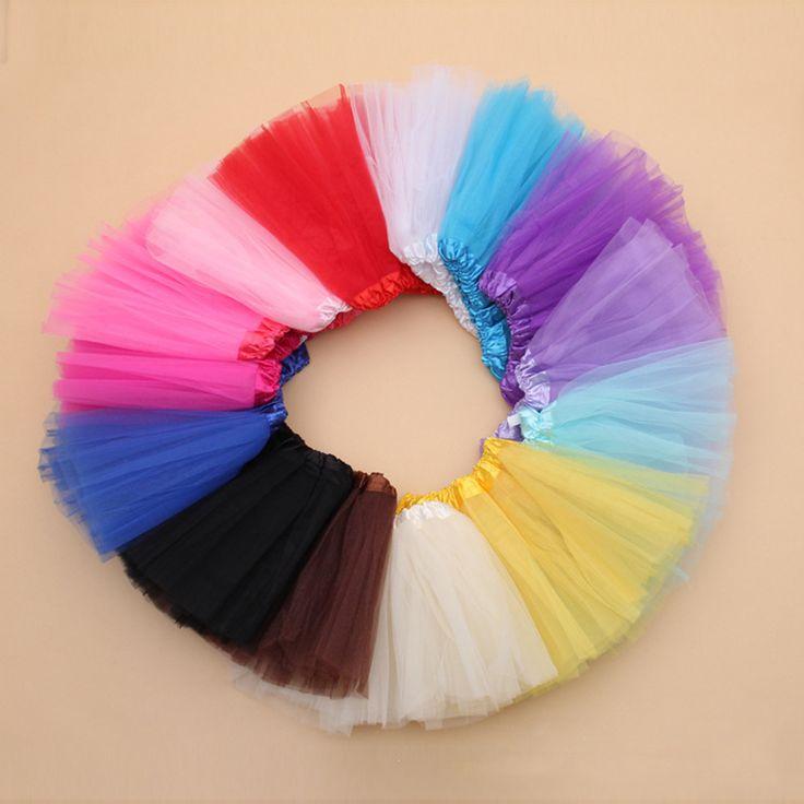 Nice 7 Colors Girls Skirts Princess Lovely Tutu Skirt 2-10Y Kids Summer Skirt Candy Color Short Girls Skirt - $ - Buy it Now!
