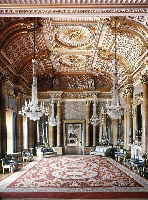 Buckingham Palace - blue drawing room