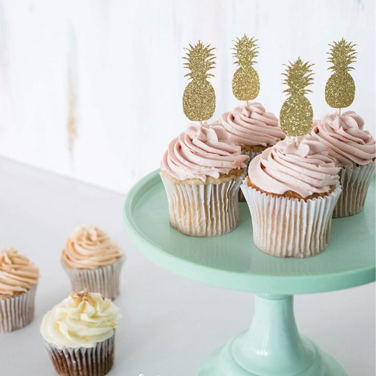 Cheap party decoration, Buy Quality pineapple party decorations directly from China cupcake toppers Suppliers: Gold or Silver Glitter I DO Wedding Cupcake Toppers Bridal Shower Party Picks Engagement Party Favors Cake Decoration Su