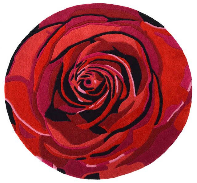 Bespoke Rose Rug From Rug Couture