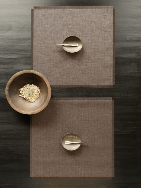 chilewich placemats and runners combine original design with unrivaled