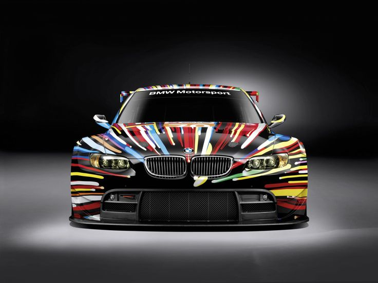 The most beautiful racing car ever - BMW M3 GT2 by Jeff Koons