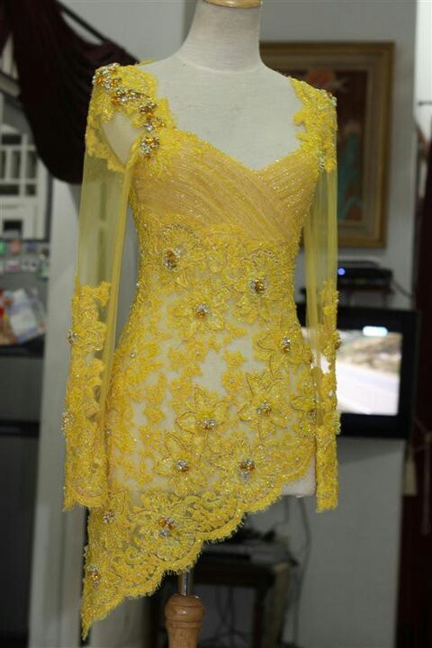 Pretty Yellow Kebaya by House of Vera