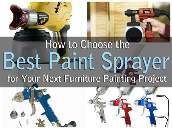 How to choose the best paint sprayer for your next for Interior home paint sprayer