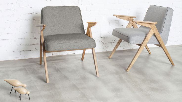 A Polish-designed chair that was once a common sight in the living rooms of the formerly Soviet Bloc country has been reissued by new brand 366 Concept.