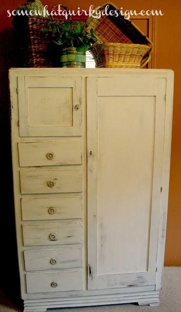 17 meilleures images propos de meubles transform s sur - Peinture caseine meuble ...