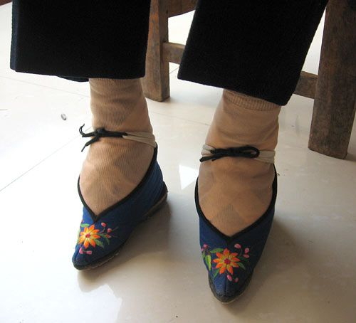 Chinese footbinding - a very interesting article.