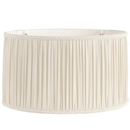beautiful pleated drum lamp shade