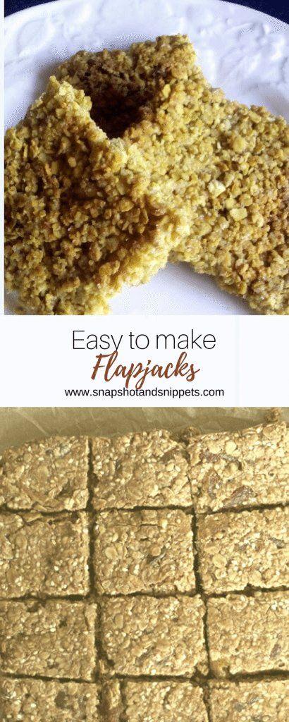My Easy Flapjack Recipe and a Week Roundup https://snapshotandsnippets.com/2015/08/my-easy-flapjack-recipe/ #Flapjacks #Oatyflapjacks