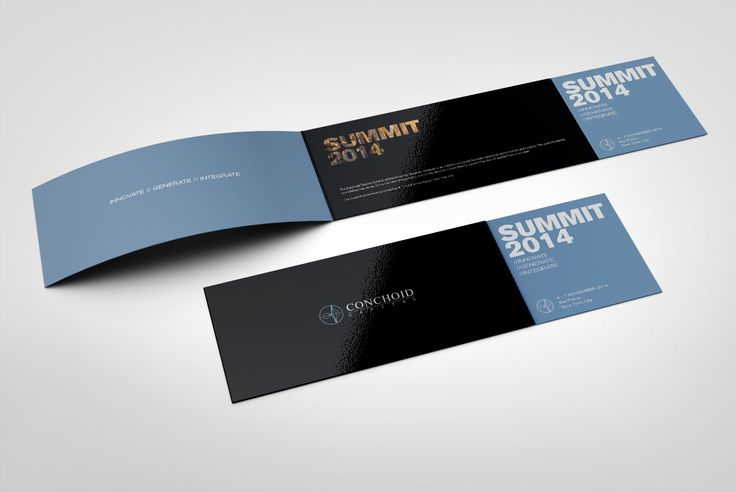 Conchoid Capital Corporate Invitation Design