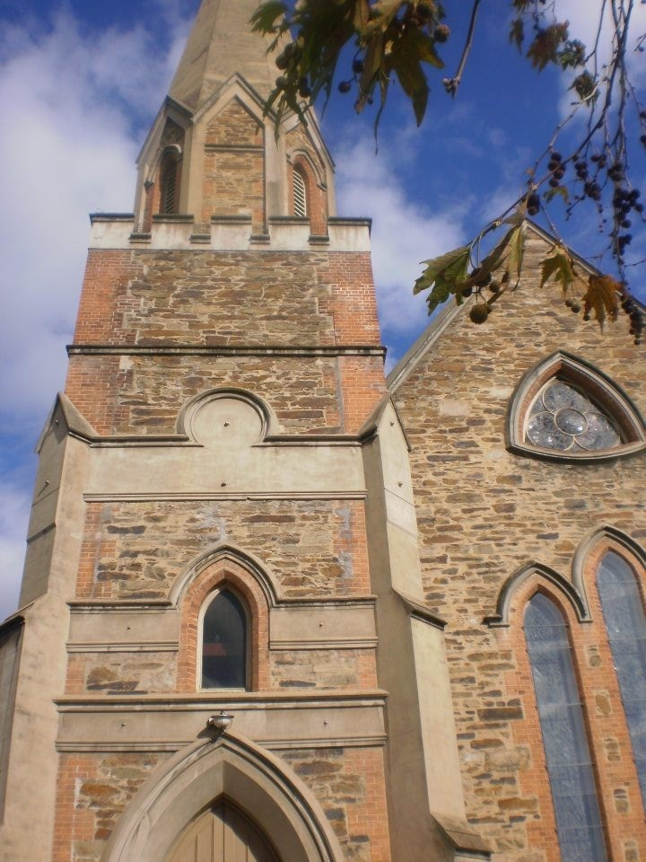 scots uniting church in Adelaide city North Terrace • Adelaide's churches