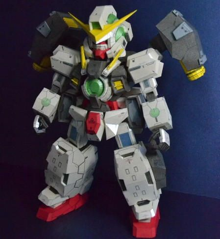 Detailed SD GN-005 Gundam Virtue Papercraft Free Template Download - http://www.papercraftsquare.com/detailed-sd-gn-005-gundam-virtue-papercraft-free-template-download.html#Detailed, #GN005, #GN005GundamVirtue, #Gundam, #GundamVirtueParticleType, #MobileSuitGundam00, #SD, #Virtue