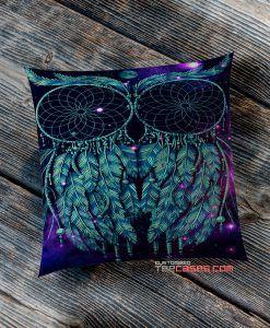 dream catcher owl pillow case, Custom Pillow case, Square Rectangle pillows case