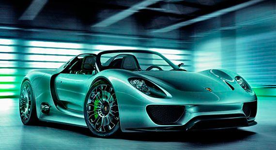 Porsche 918 Spyder o superesportivo milionário