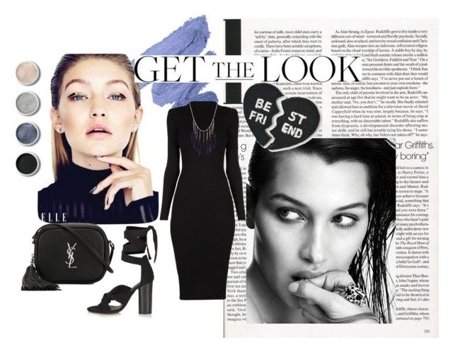 """Get the Look"" by ginewwra on Polyvore featuring moda, Radcliffe, Topshop, Yves Saint Laurent, Hipstapatch i Terre Mère"