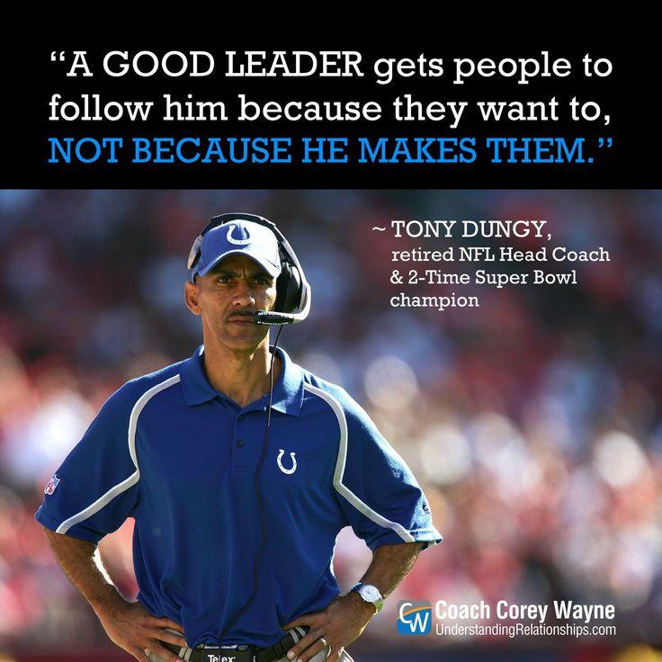 Sunday Night Football Quotes: Best 25+ Tony Dungy Ideas On Pinterest