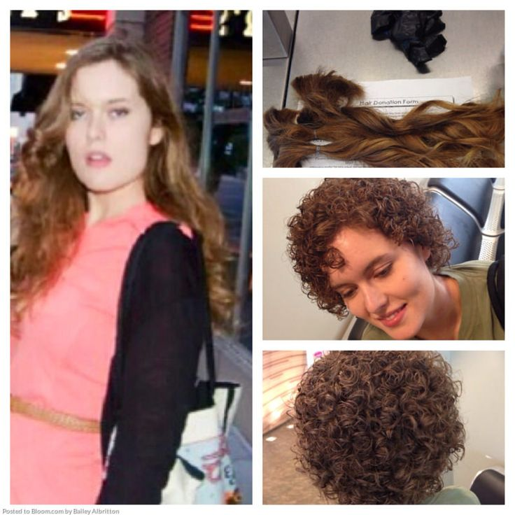 Before And After Perm Short Permed Hair Short Curly