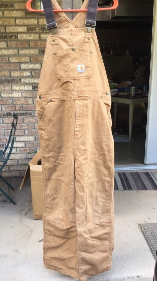 Carhartt Bib Overalls Youth 16 Unlined  | eBay