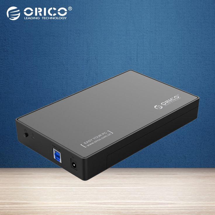 ORICO 3588US3 Portable Tool-free SATA3.0 to USB 3.0 2.5 & 3.5 inch SSD & Sata HDD Enclosure Case [Support UASP Protocol&8TB] //Price: $29.79 & FREE Shipping //     #hashtag1