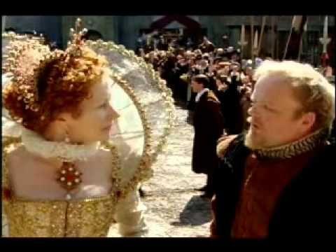 """spezzone di un episodio di """"superQuark""""  trattante il difficile rapporto tra Elisabetta e Robert Dudley ,caricato su Youtube."""
