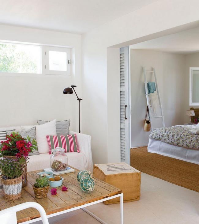 Cómo decorar un mini apartamento de verano 37 metros cuadrados