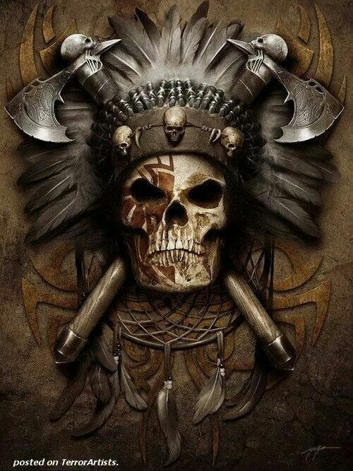 Caveira indígena