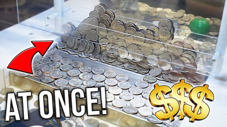 Coin Pusher || 200 QUARTERS AT ONCE!!