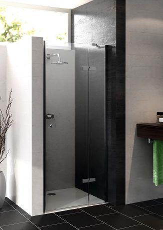 Perfect voor de kleine badkamer zijn draaivouwdeuren. Dit is geen volledige douchedeur. Een dergelijke deur begint eerst met een stukje glazen wand. Daaraan zit dan een smalle deur als een soort vleugel. Bij het openen neemt deze beduidend minder ruimte in beslag dan een normale douchedeur. De Hüppe 501 draaivouwdeur[...]