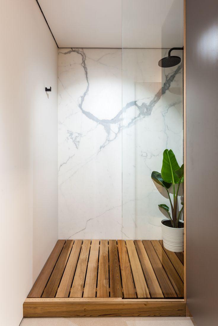Apartment renovation - Shower by LDC. Claremont, Western Australia.