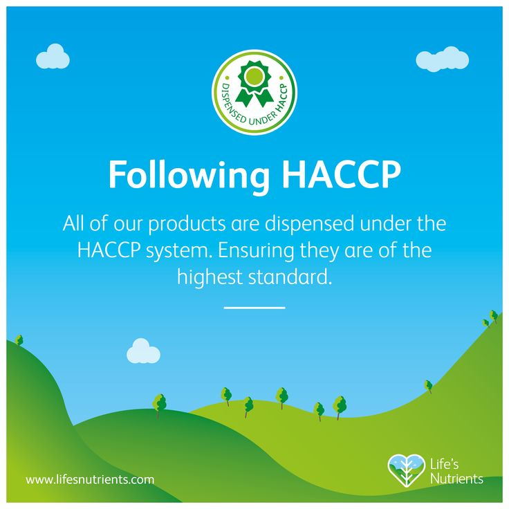 All of our products are dispensed under the HACCP system. Ensuring they are of the highest standard.
